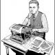 F. Scott Fitzgerald illustration