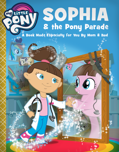 My Little Pony Personalized Book