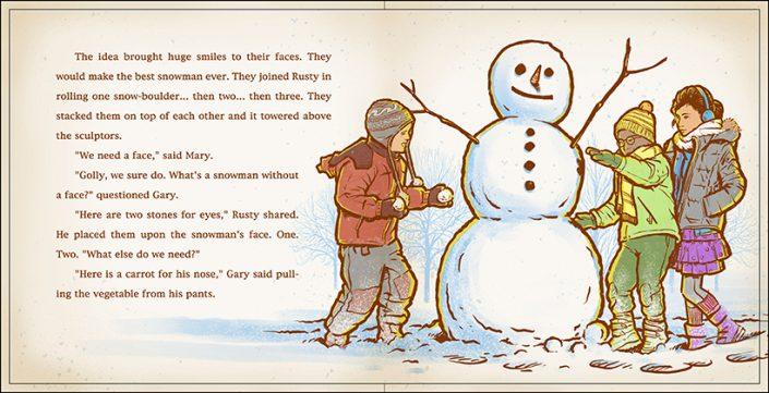 One Snowie Day