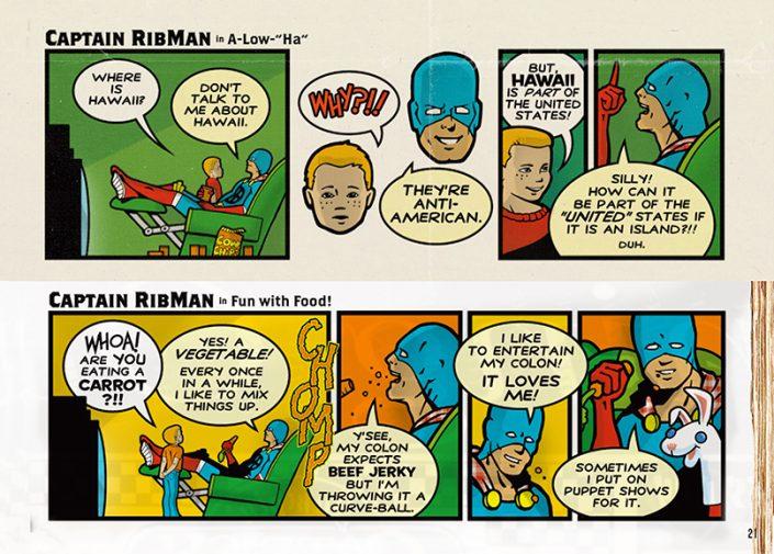 Captain RibMan's Massive Dump