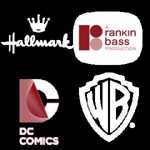 DC Comics - Rankin Bass - Hallmark Minibook