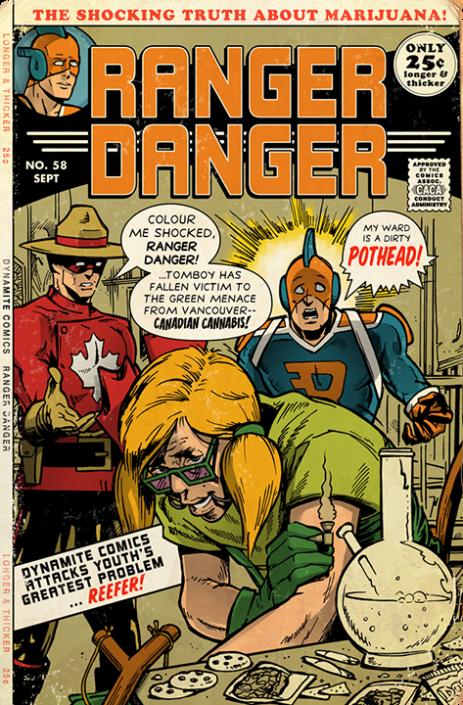 Ranger Danger #58, 1971