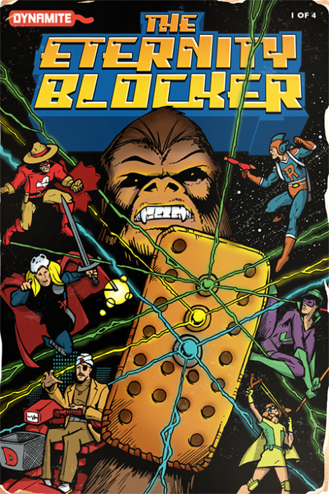 Ranger Danger: The Eternity Blocker #1, 1990