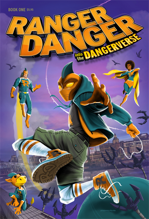 Ranger Danger: Into The Dangerverse #1, 2019
