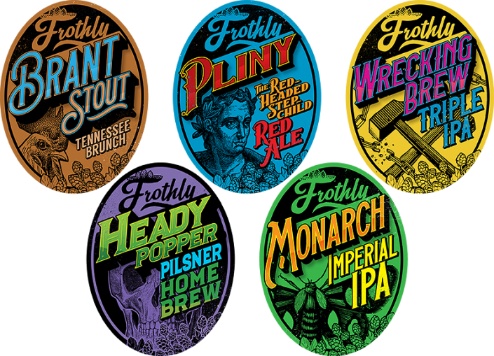 Splunk - BOTS Tournament elements - Frothly Beer Labels