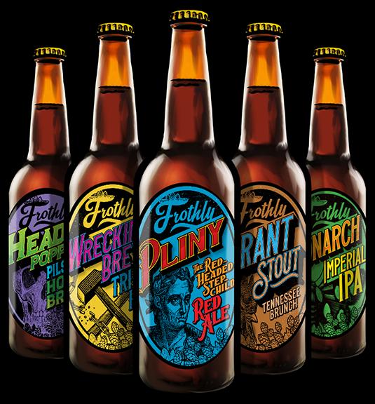 Splunk - BOTS Tournament elements - Frothly Beer Bottles