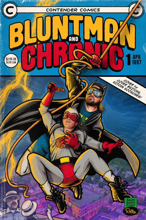 Bluntman & Chronic #1 - NFT